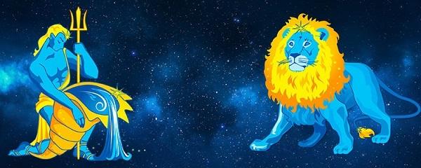 ось лев-водолей