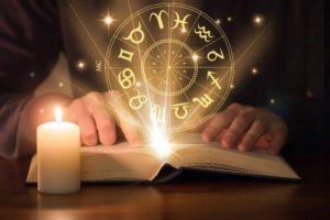 свеча книга и зодиак