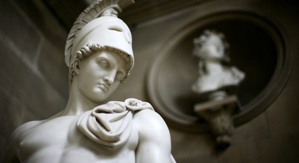 скульптура римского бога Марс