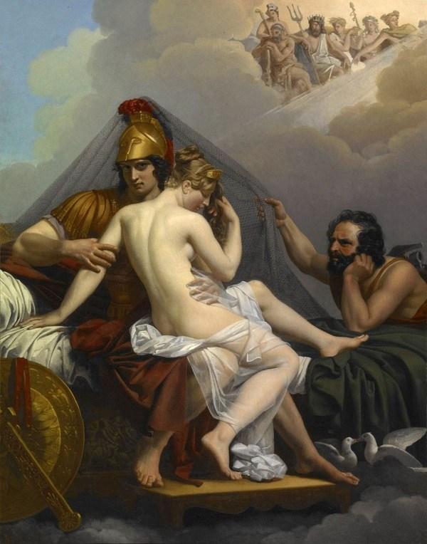 Маср Венера Меркурий на картине античных мастеров