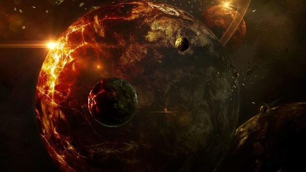 художественная фантазия на тему планет