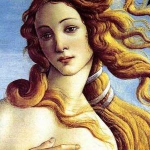 венера ботичели фрагмент картины
