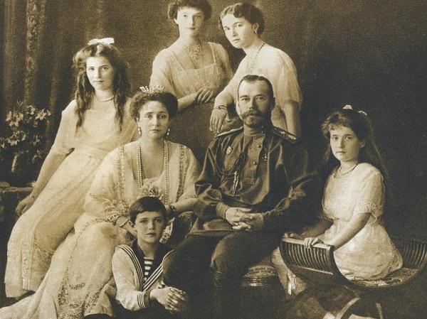 фотография семьи Николай 2