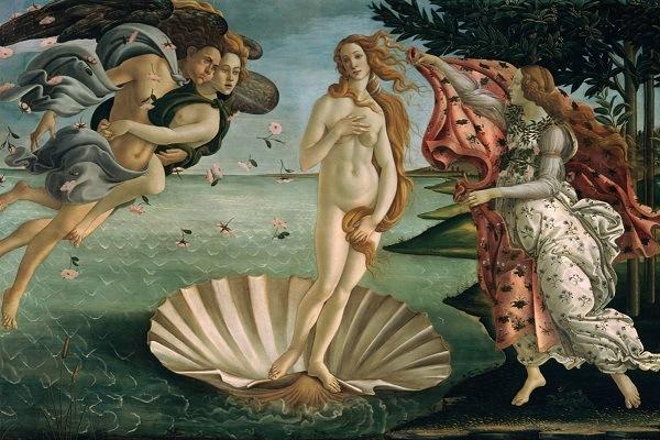 картина Ботичелли Рождение Венеры
