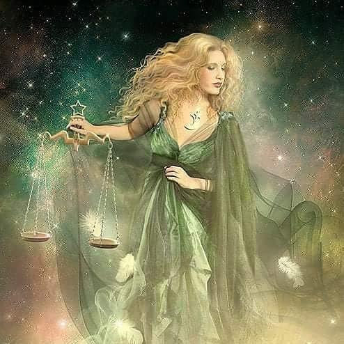"""картина ассоциация планет и знаков зодиака """"венера-весы"""""""