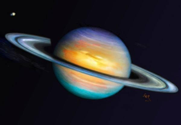 фото из космоса планеты сатурн
