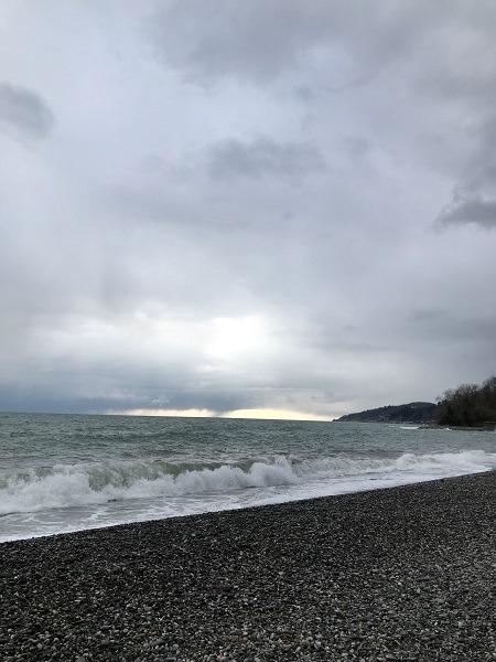 бурное черное море