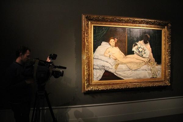 знаменитая Олимпия импрессиониста Мане в эрмитаже