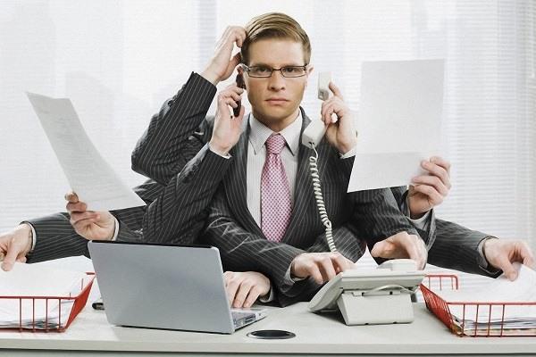 фантазийная картинка на тему офисной трудоспособности