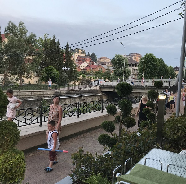 Набережная реки Псахе, г. Сочи