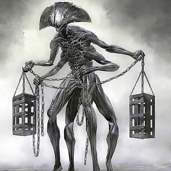 демон весы
