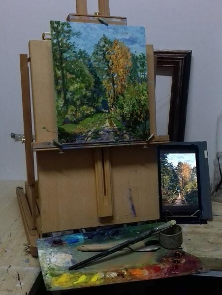 картина современного художника VLAD_ANTS
