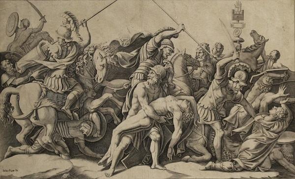 рисунок гибель Патрокла